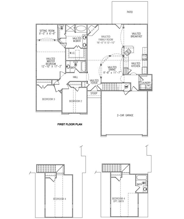 Castle home builder live the dream riverstone for Castle rock floor plans